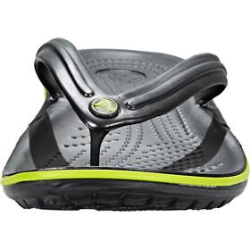 Crocs Crocband Sandalias, graphite/volt green